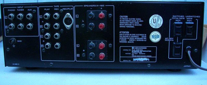 e hifi pl katalog sprz tu audio hi fi i hi end vintage rh e hifi pl Kenwood KA 9100 Amplifier Kenwood KA 9100 Amplifier